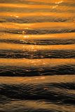 Golden ripples Stock Photo