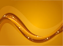 Golden river Stock Photography