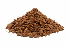 Golden roasted Instant Coffee Stock Image