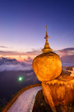 Golden Rock of Myanmar Royalty Free Stock Photo