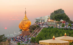 Golden Rock Myanmar Royalty Free Stock Photos