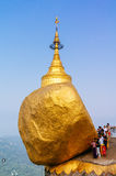 Golden Rock, Myanmar Royalty Free Stock Image