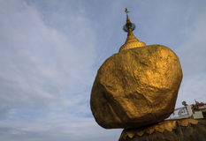 Golden rock temple Stock Image