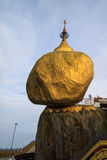 Golden rock temple Stock Photography