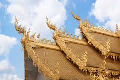 Golden roof Royalty Free Stock Photos