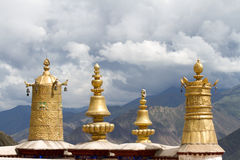 Golden roof Royalty Free Stock Images