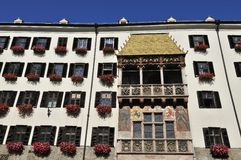 Golden Roof in Innsbruck Royalty Free Stock Image