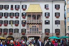 Golden Roof in Innsbruck, Austria. Stock Image