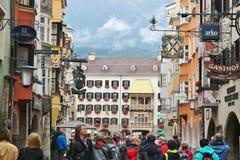 Golden Roof in Innsbruck, Austria. Stock Images