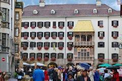 Golden Roof in Innsbruck, Austria. Royalty Free Stock Images