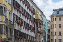 The Golden Roof in Innsbruck, Austria. Stock Photo