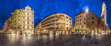 The Golden Roof in Innsbruck, Austria. Stock Images