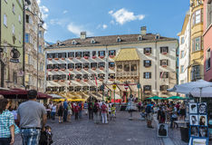 The Golden Roof in Innsbruck, Austria. Stock Photography