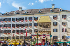 The Golden Roof in Innsbruck, Austria. Stock Image