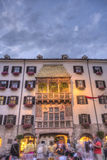 The Golden Roof in Innsbruck, Austria. Royalty Free Stock Image