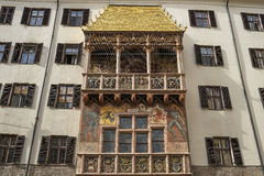 The golden roof of Innsbruck in Austria Royalty Free Stock Image