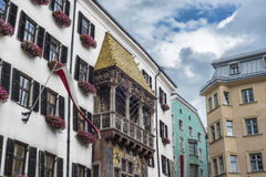 The Golden Roof in Innsbruck, Austria. Royalty Free Stock Photos