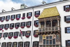 The Golden Roof in Innsbruck, Austria. Royalty Free Stock Photography