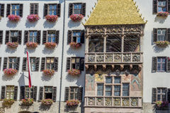 The Golden Roof in Innsbruck, Austria. Stock Photos