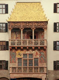 Golden roof in Innsbruck, Austria Royalty Free Stock Images