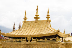 Golden roof Royalty Free Stock Photo