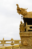 Golden roof Stock Photography