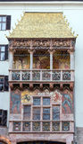Golden Roof landmark of Innsbruck, Austria Stock Images