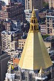 Golden Roof In Manhattan Stock Photos