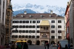 Golden roof museum in Innsbruck Stock Images