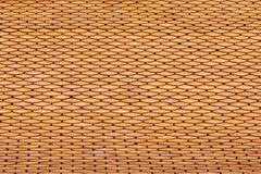 Golden roof tiles Stock Photo
