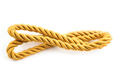 Golden rope Royalty Free Stock Photos