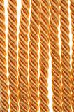 Golden rope Royalty Free Stock Photography