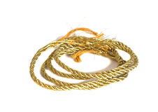 Golden rope Stock Photos