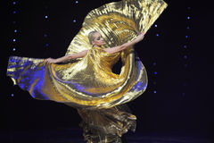 The Golden Rose-Turkey belly dance-the Austria's world Dance Stock Photography