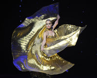 The Golden Rose-Turkey belly dance-the Austria's world Dance Royalty Free Stock Photo
