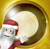 Golden round design elements. Graphic illustration vector illustration