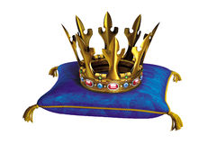 Golden royal crown Royalty Free Stock Photography