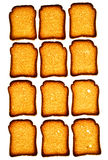 Golden rusk Stock Images