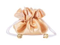Golden Sack. Stock Image