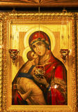Golden Saint Barbara Icon Basilica Saint Michael Cathedral Kiev Ukraine Royalty Free Stock Images
