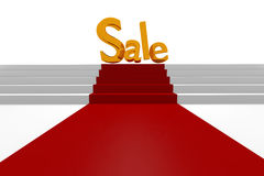 Golden Sale Stock Images