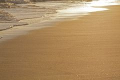 Golden sand Stock Image
