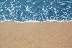 Golden sand Stock Image