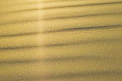 Golden sand background Royalty Free Stock Photos