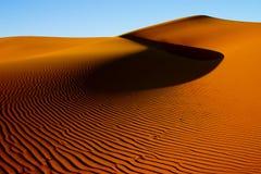 Golden sand dune Stock Image