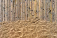Free Golden Sand On The Beach Asleep Half Track Royalty Free Stock Images - 58163849
