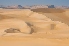 Golden sand in Sahara desert in Egypt Royalty Free Stock Photo