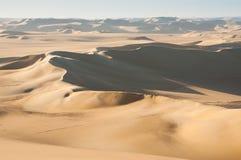 Golden sand in Sahara desert in Egypt royalty free stock photos