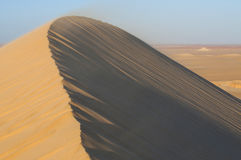 Golden sand in Sahara desert in Egypt Stock Photography