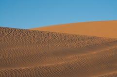 Golden sand in Sahara desert in Egypt royalty free stock images